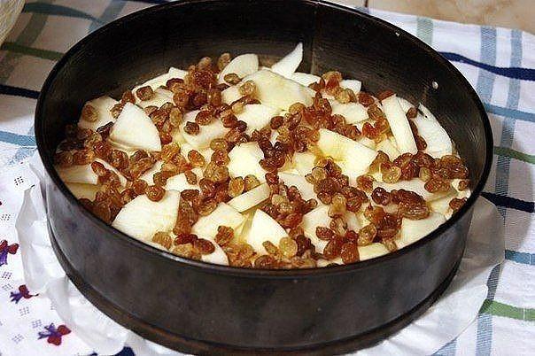 Обалденный яблочный пирог домашний