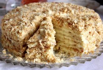 Торт «Светлана» на сковороде