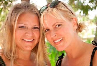 Две сестры остались без мужей.