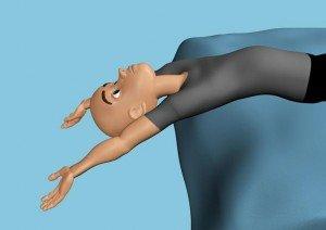 Как самостоятельно сделать декомпрессию позвонков! Очень полезная штука — называется поза «зародыша»