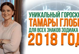 Что нам уготовил 2018 год? Прогноз для каждого знака Зодиака от Тамары Глобы!