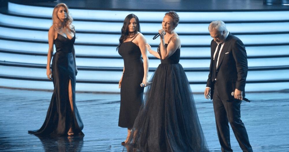 Меладзе спел с золотым составом ВИА Гры: Джанабаевой, Мейхер и Брежневой — видео