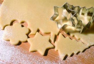 Песочное печенье на Новый год. Каждый год пеку с детьми!