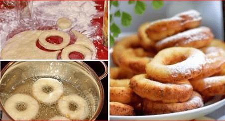 Творожные пончики. Готовятся быстро, а получаются очень нежными и вкусными!
