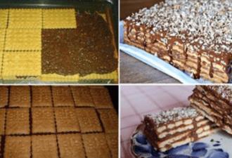 Торт печенье, который вы точно никогда не ели! Честно сказать: Это самый лучший торт, который я ела … и приготовить его очень легко. Вот как …