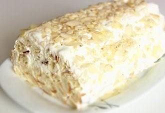 Супер легкий торт, который по вкусу напомнит вам «Наполеон»