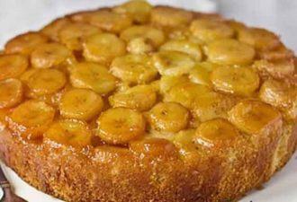 Шарлотка с яблоками и бананами — оригинально и очень вкусно!