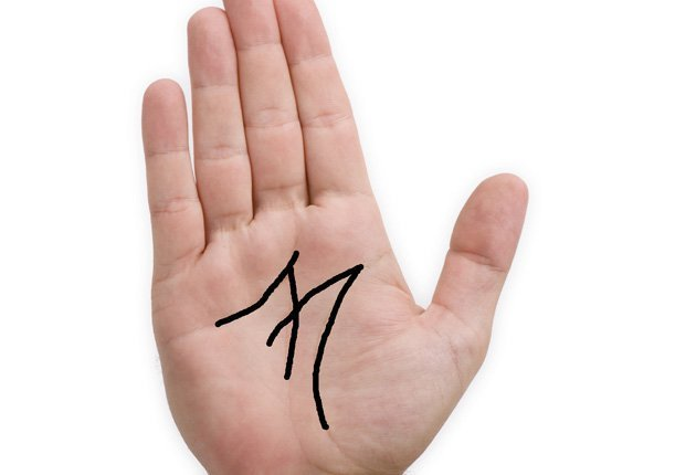 Вот что означает буква «М» на вашей ладони