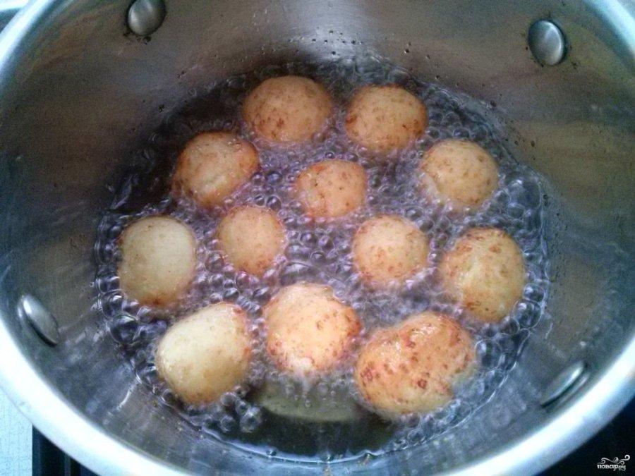 Простые и вкусные творожные шарики. Кто же их не любит?