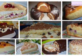 Потрясающие 10 рецептов домашней выпечки из творога! Потрясающие варианты как разнообразить десерты!