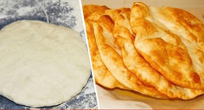 Хрустящие и ароматные венгерские лепешки Лангоши