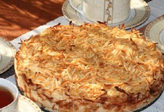 Яблочный пирог «3 стакана» — Сочная начинка и хрустящая сахарная корочка ! Невероятно вкусный и сочный пирог за 15 минут, без яиц и никакой возни