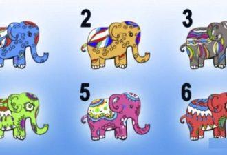 Просто выберите слона и узнайте тайную черту Вашего характера! Вы точно удивитесь…