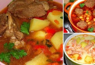 10 рецептов самых вкусных супов! Удиви родных и друзей!