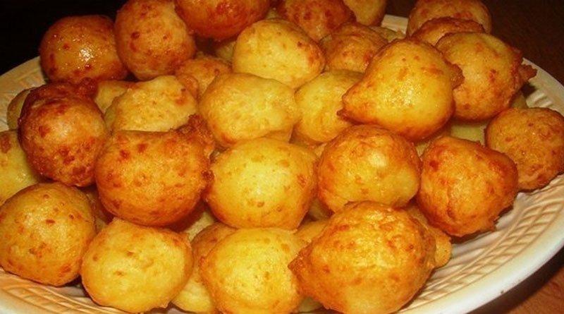 Картофельные пампушки с сырной начинкой. Это просто объедение