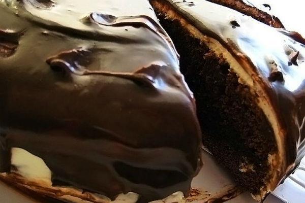 Торт «КАПУЧИНО» - нежный, мягкий, шоколадный