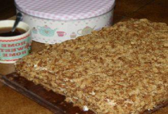 ТОРТ со сгущенкой за 30 минут! Простой рецепт вкусного торта 11 летняя дочь приготовила с подружкой и принесла угостить. Торт таял во рту, был мягким и нежным.