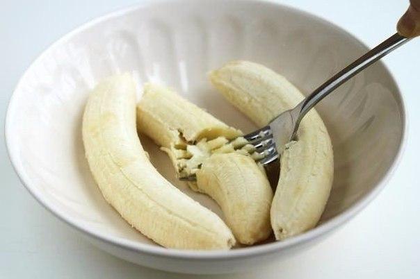 Банановые оладьи без муки и сахара.