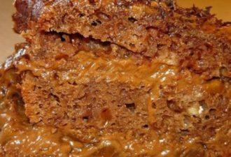 Торт «ЦЫГАНКА» Торт получается необыкновенно вкусным, несмотря на простоту в приготовлении