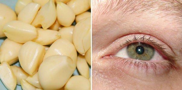Как восстановить зрение с помощью чеснока
