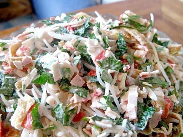 Легкий и вкусный салат «Лакомка» — покорил мое сердце!