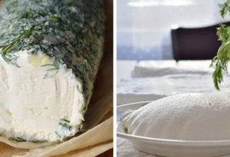 Обалденная закуска за 2 дня. Для нее вам понадобится два основных ингредиента: кефир и сметана