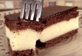 Рецепт быстрого приготовления торта «Птичье молоко»
