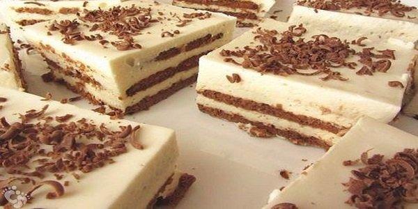 Первоклассный торт за 25 минут без выпечки! Я его делаю каждую неделю! Крем замечательно пропитывает печенье, оно как настоящие коржи.