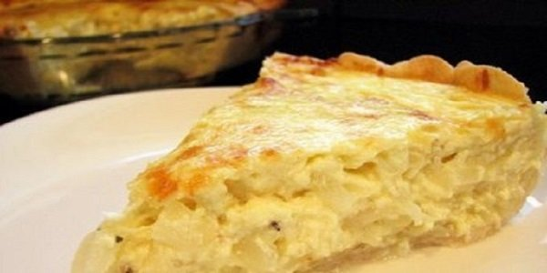Самый вкусный луковый пирог. Нежный, тающий, просто настоящее волшебство!