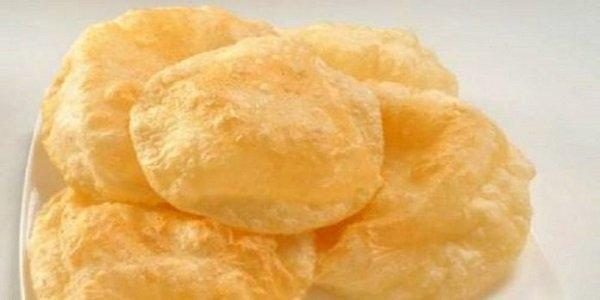 Индийские воздушные «пури». Постное блюдо ! Вкусные лепешечки, которые заменят хлеб. Попробуйте!