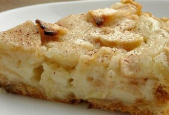 Цветаевский пирог с хрустящей песочной основой и яблоками. Объедение! Тает во рту!