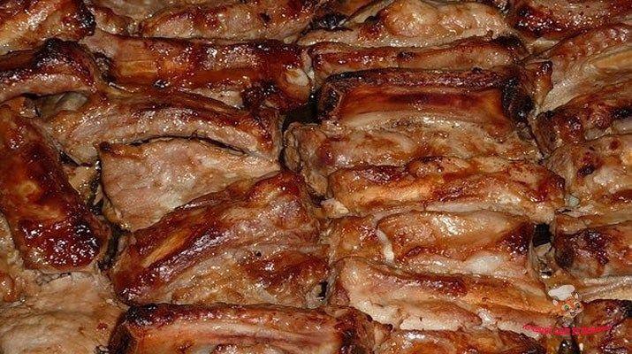 Свиные ребрышки в духовке. Супер рецепт!