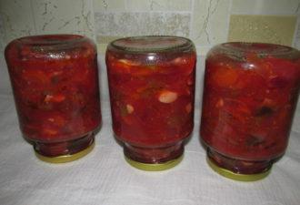 Простой салат из баклажанов на зиму — вкусный салат-ассорти из овощей