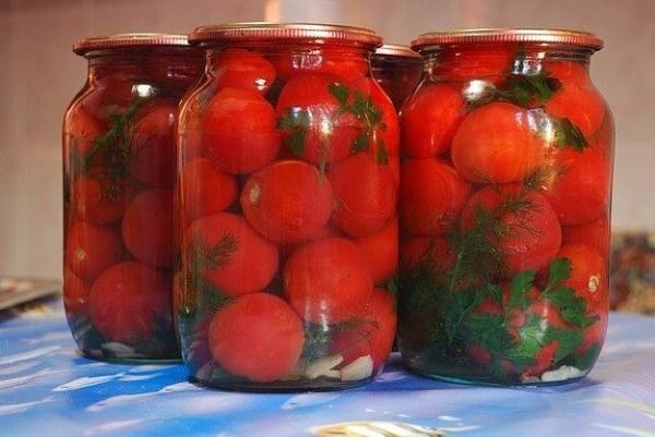Закатываем помидоры без уксуса. Вкусно
